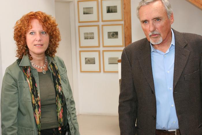 Dennis Hopper and Cass Warer