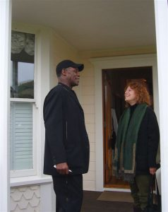 Danny Glover and Cass at Mendocino Film Festival